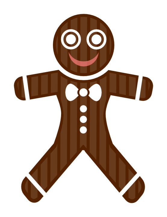 Gingerbread Woman Clipart at GetDrawings