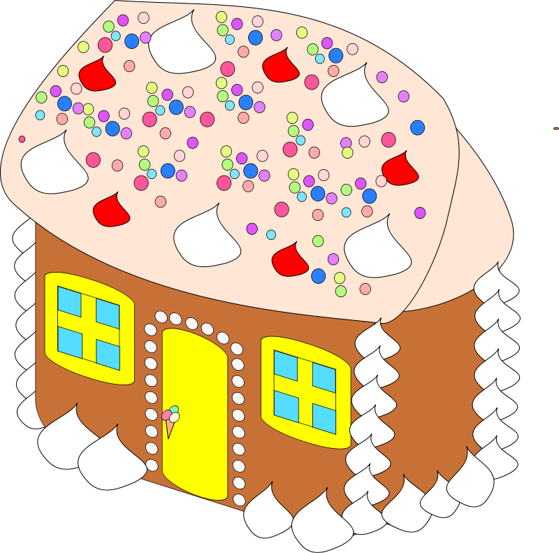 Gingerbread clipart train. Forgetmenot christmas cakes house