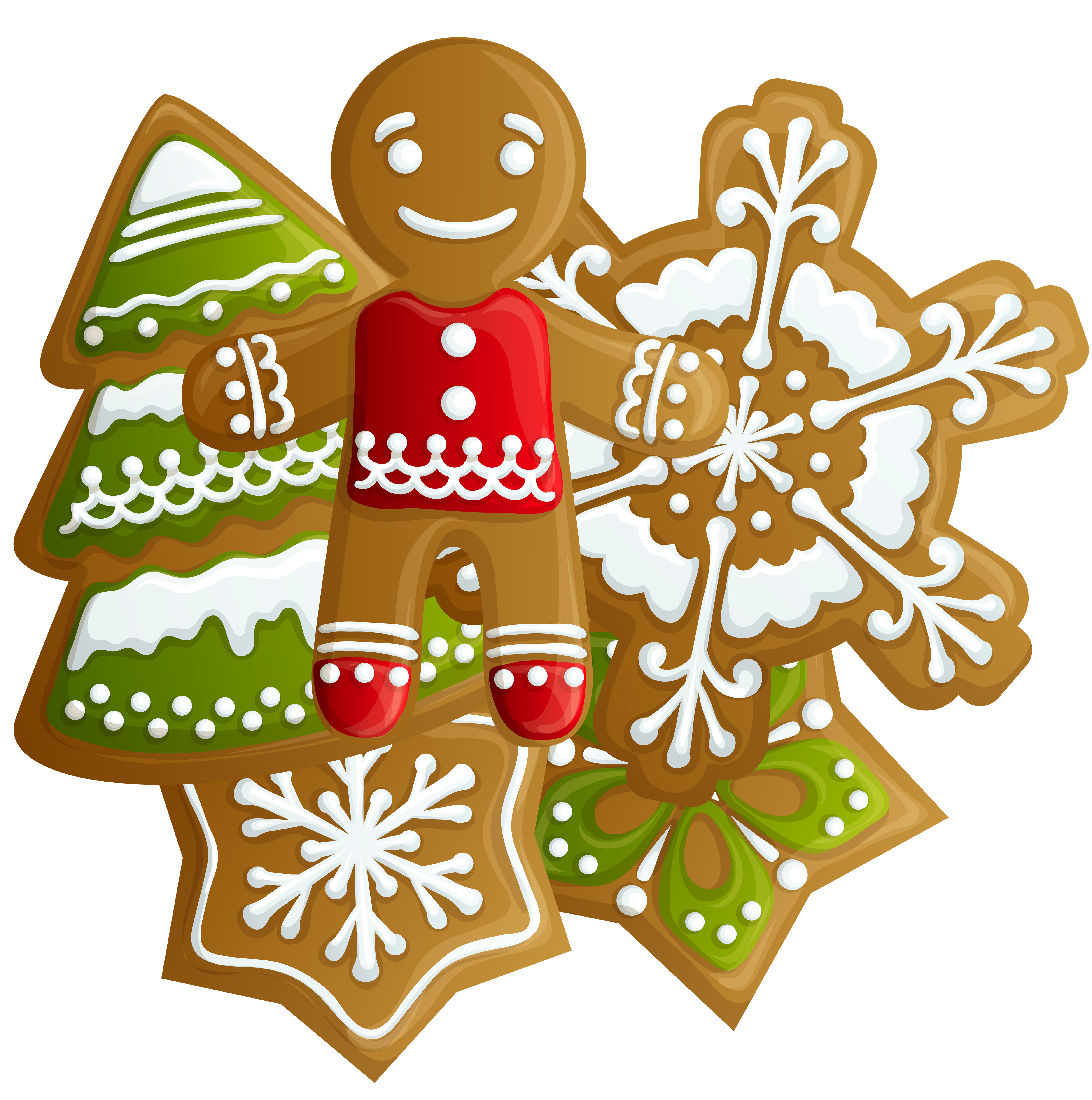Gingerbread clipart train.  collection of cookies