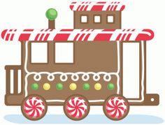 Gingerbread clipart train. Free cliparts download clip