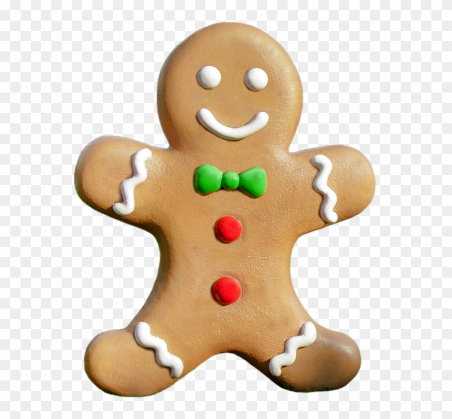 Gingerbread clipart transparent background. Svg download cookies