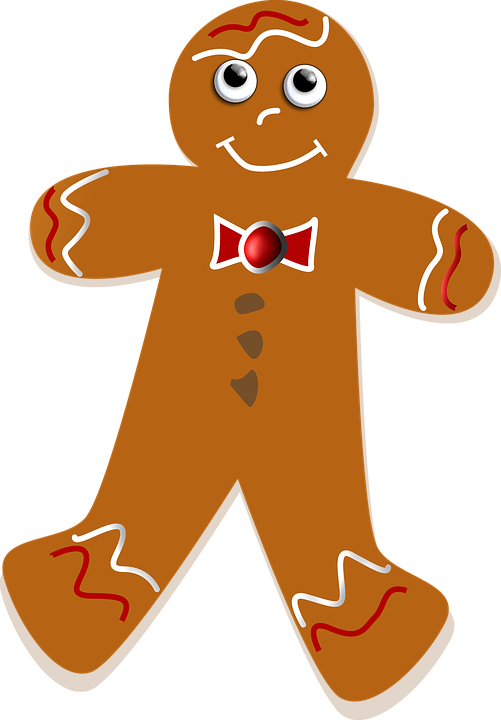 Collection of men buy. Gingerbread clipart transparent background