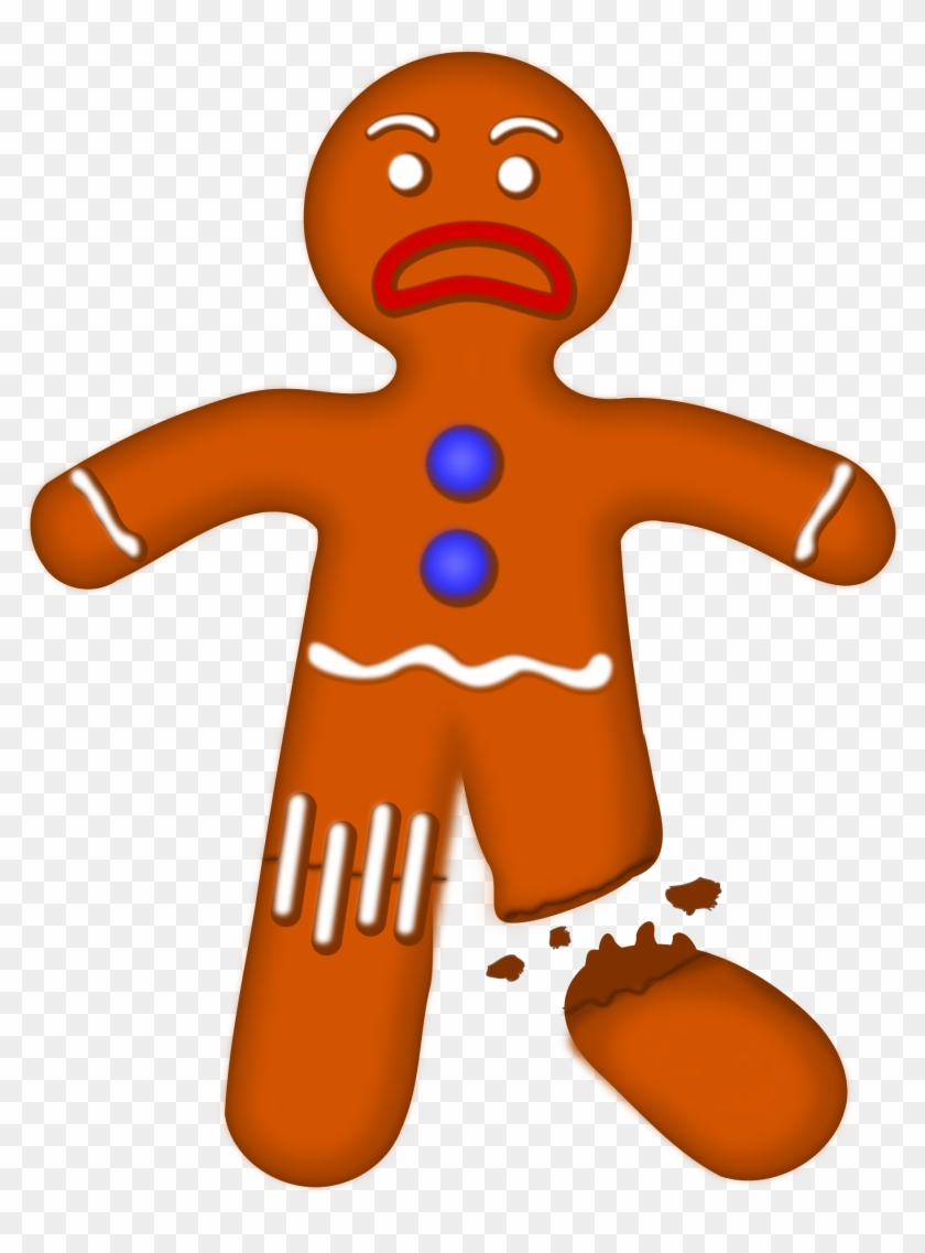 Gingerbread clipart transparent tumblr. Big image christmas man
