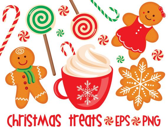 Gingerbread clipart treat.  off christmas treats