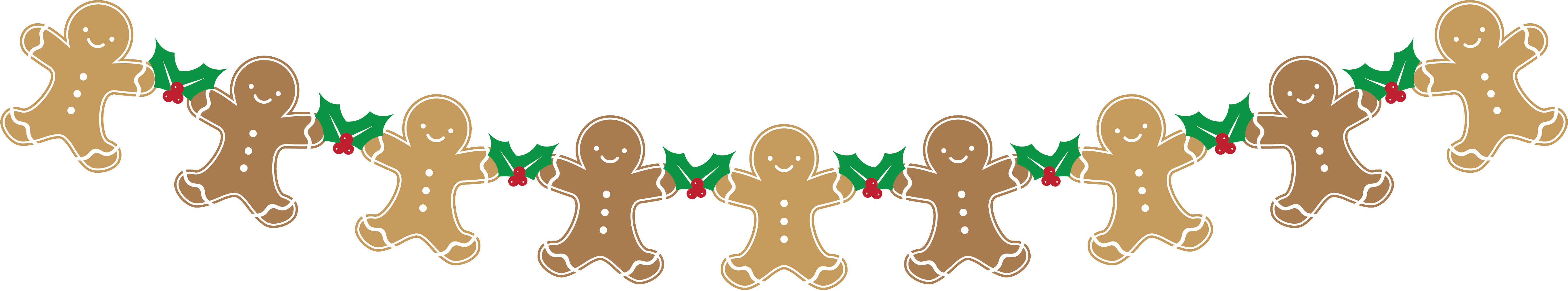 Gingerbread clipart treat. Raise money for charity