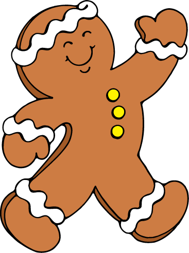 Gingerbread clipart walking. Free cliparts download clip