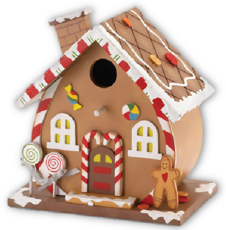 Christmas ornament clipart gallery. Gingerbread house png