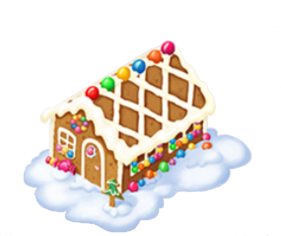 Gingerbread house png. Image fantasy forest story