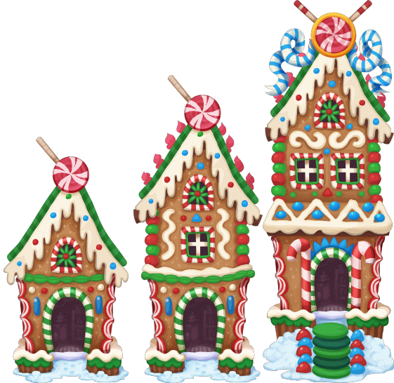 Gingerbread house png. Image xmas level to