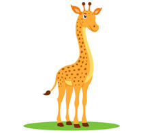 Free clip art pictures. Giraffe clipart