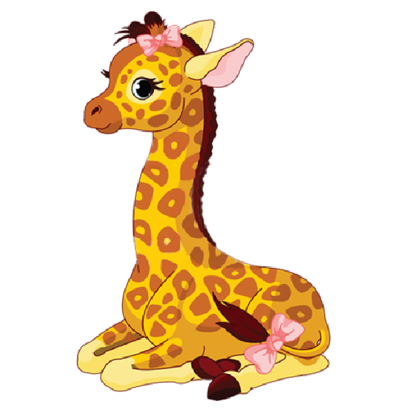 Cartoon free download clip. Giraffe clipart angry