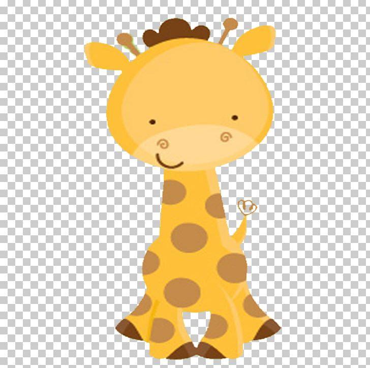 Wedding invitation infant party. Giraffe clipart baby shower