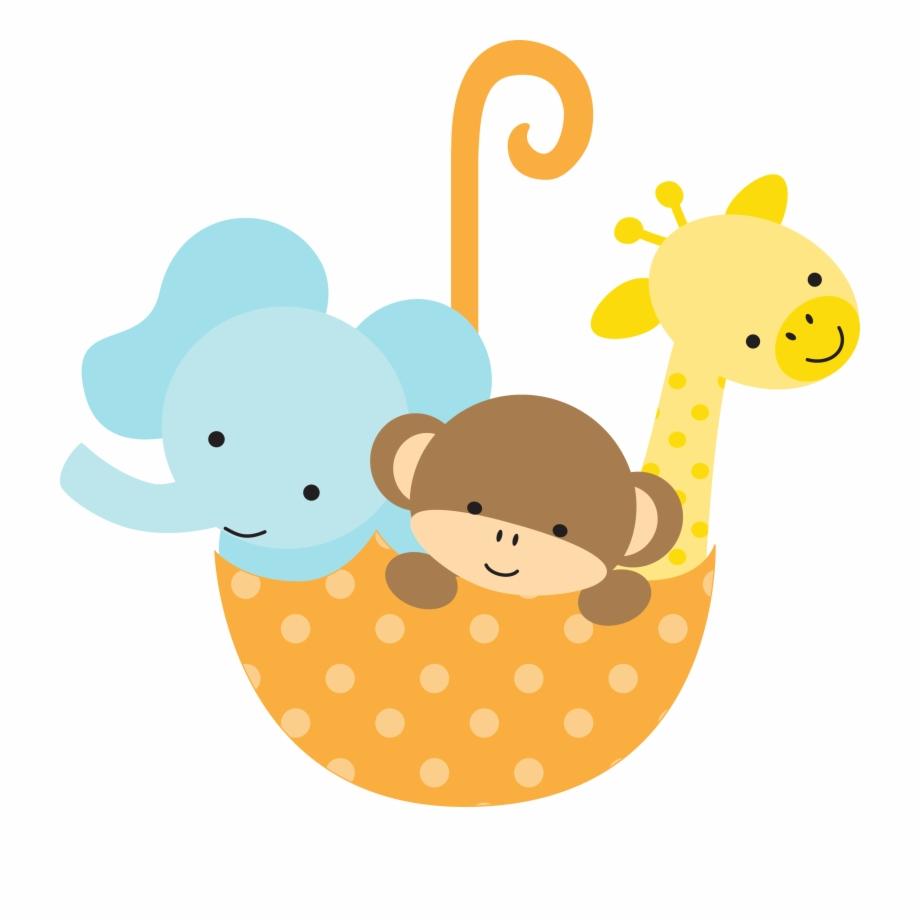 Safari clip arts . Giraffe clipart baby shower