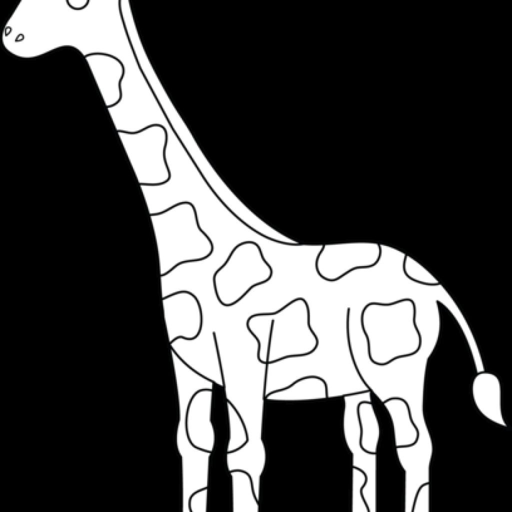 Unicorn hatenylo com free. Giraffe clipart black and white