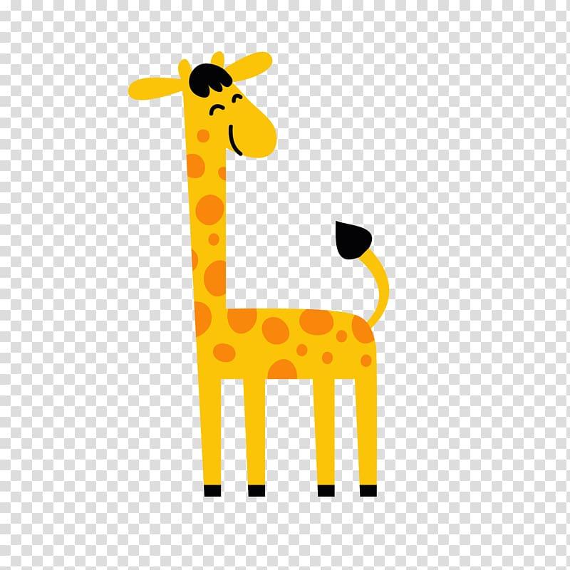 Giraffe clipart caricature. Northern cartoon transparent