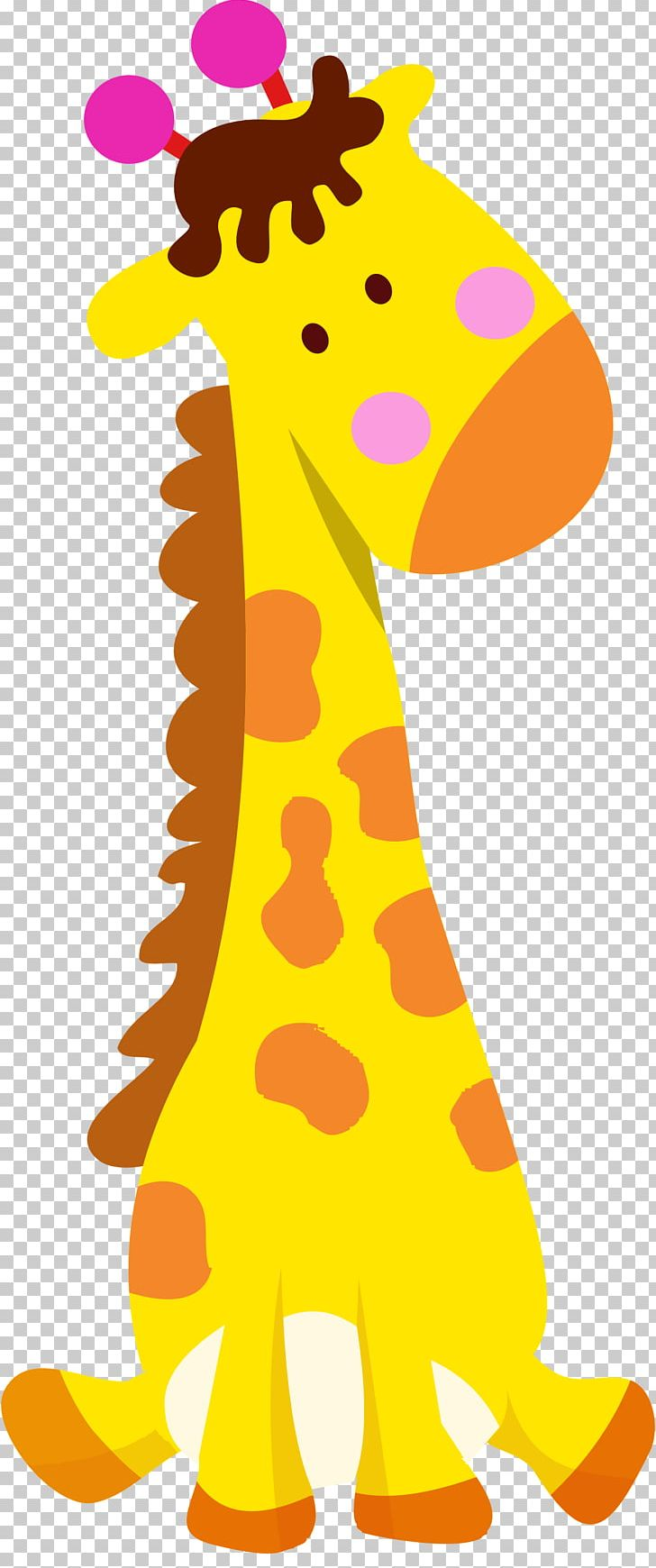 giraffe clipart caricature