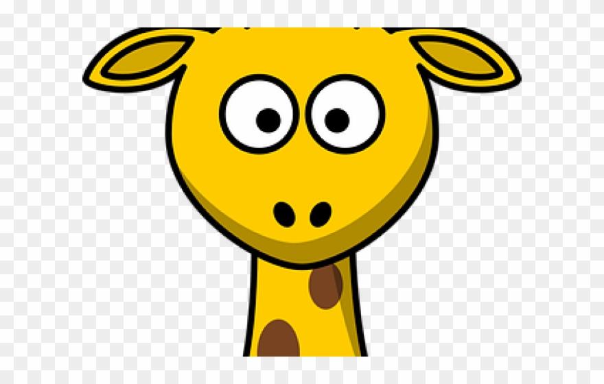 Cartoon clip art png. Giraffe clipart face