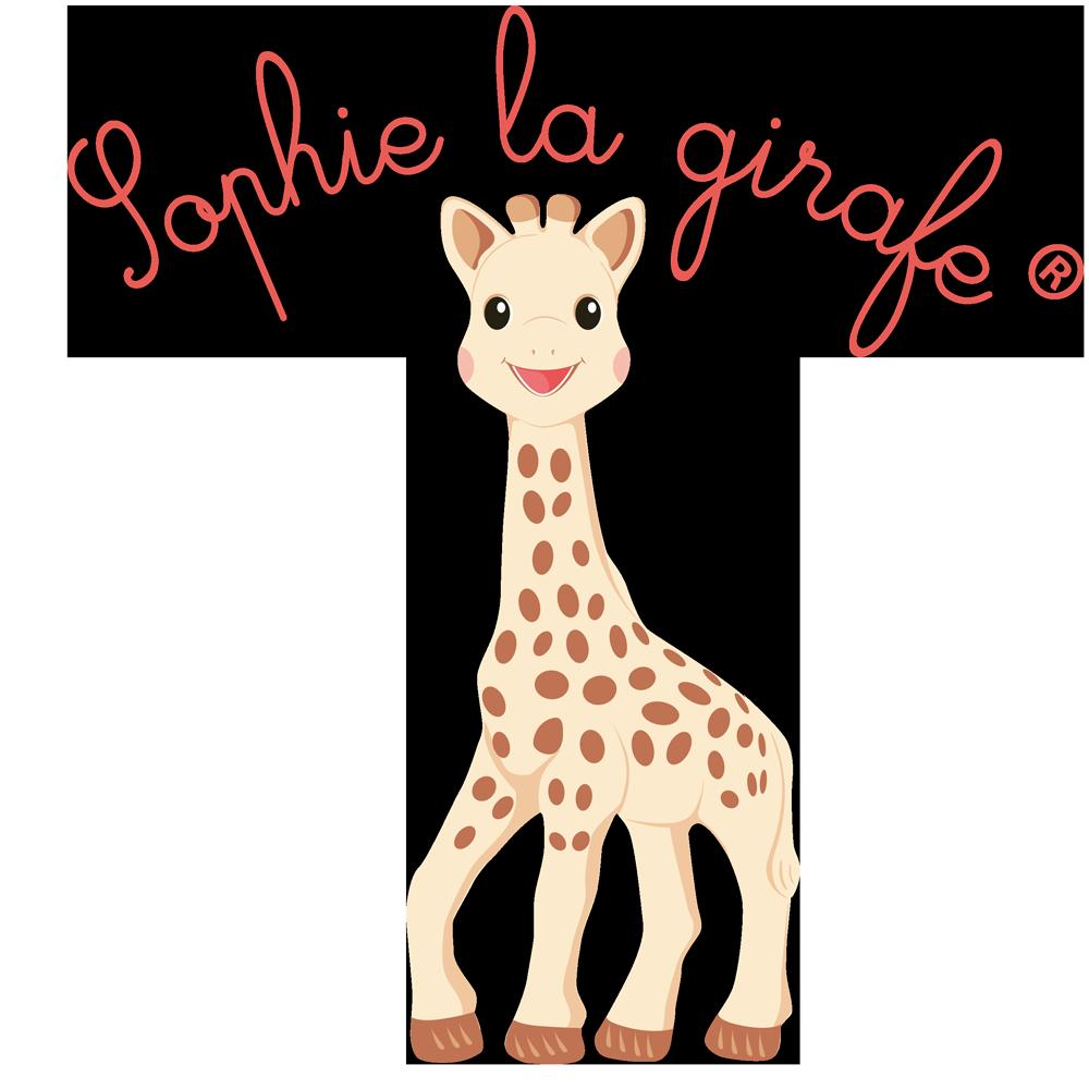 Giraffe clipart family. Baby shower gift sophie