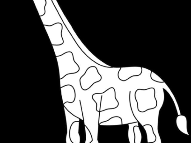 Giraffe clipart outline. Cliparts x carwad net