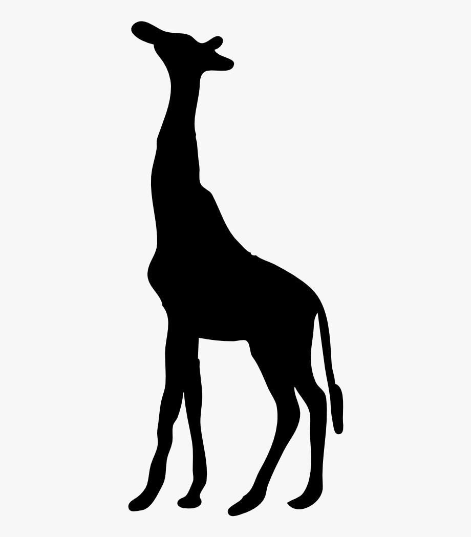 Clip art . Giraffe clipart silhouette