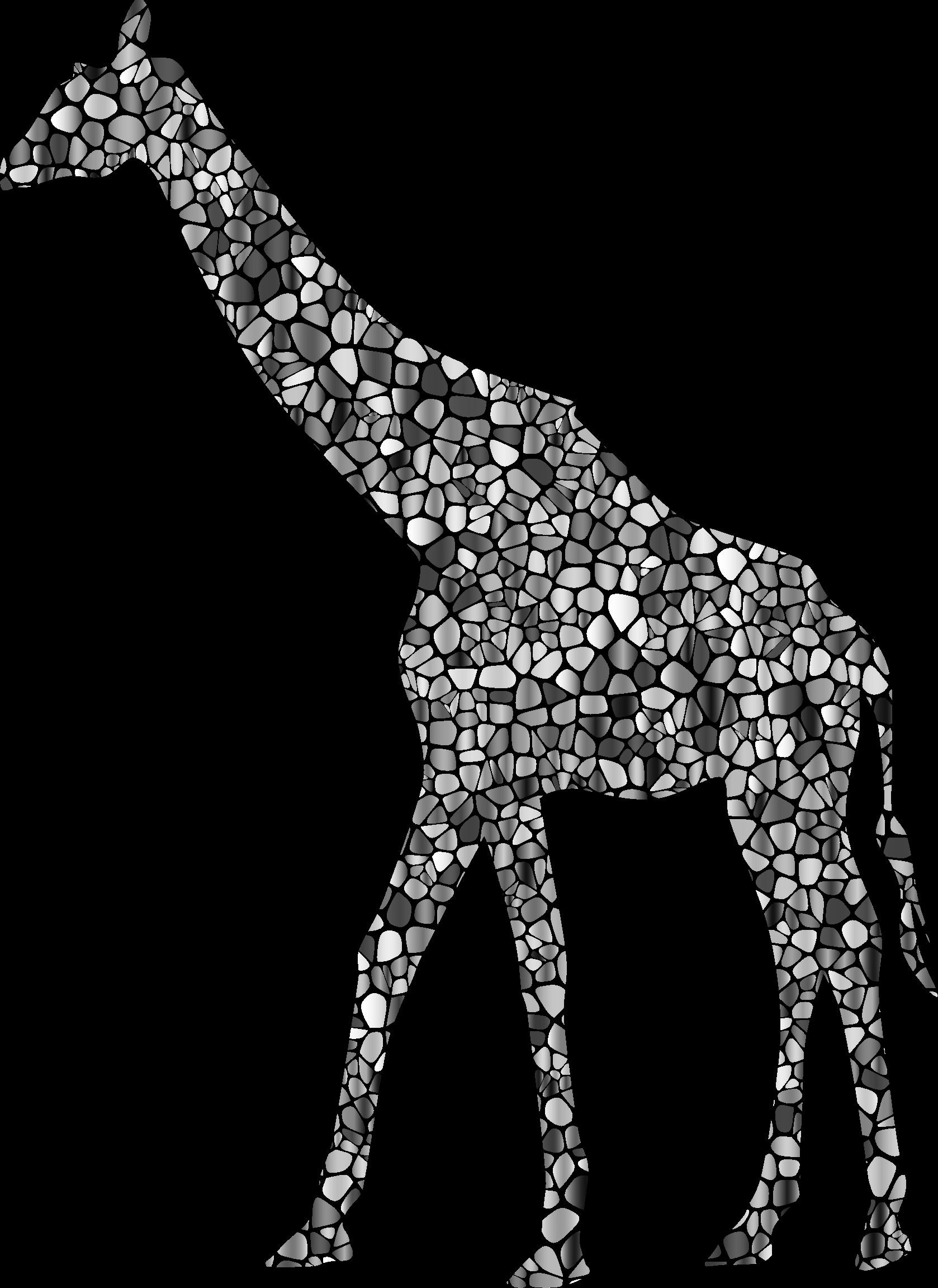 Giraffe clipart silhouette. Clipartblack com animal free