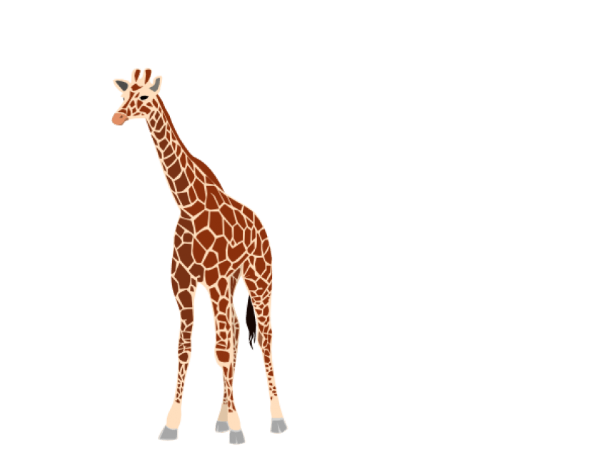 Giraffe clipart skin. Png free images toppng