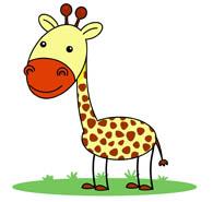 Giraffe clipart walker. Free clip art pictures
