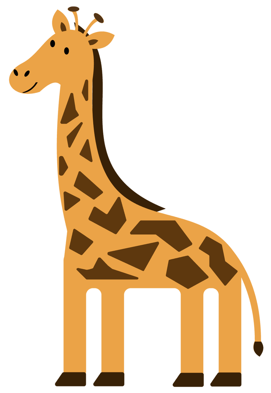 Free download best on. Giraffe clipart zoo animal