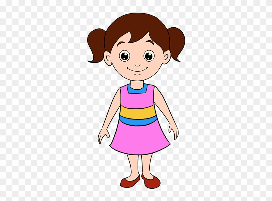 Girls clipart animated. Library stock babies drawing