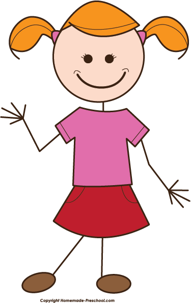 My pictures clip art. Girl clipart