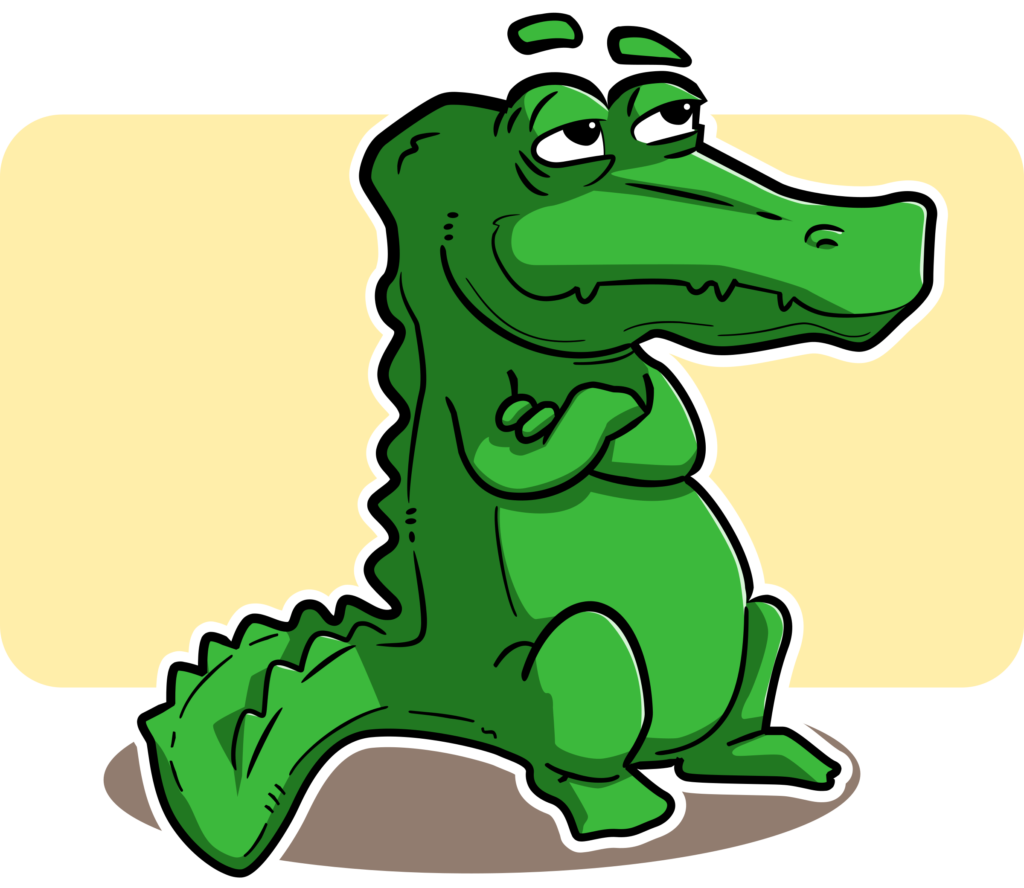 crocodile huge freebie. Girls clipart alligator
