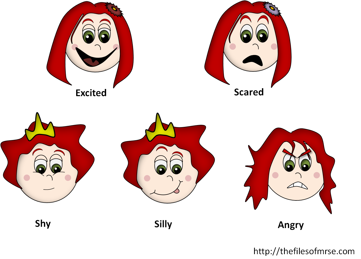 The files of mrs. Kids clipart emotion
