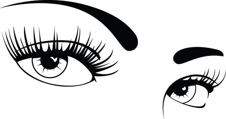 Girl clipart eye. Free clip art eyes