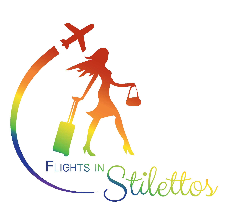 Girl clipart flight attendant. Products flightsinstilettos fis logo