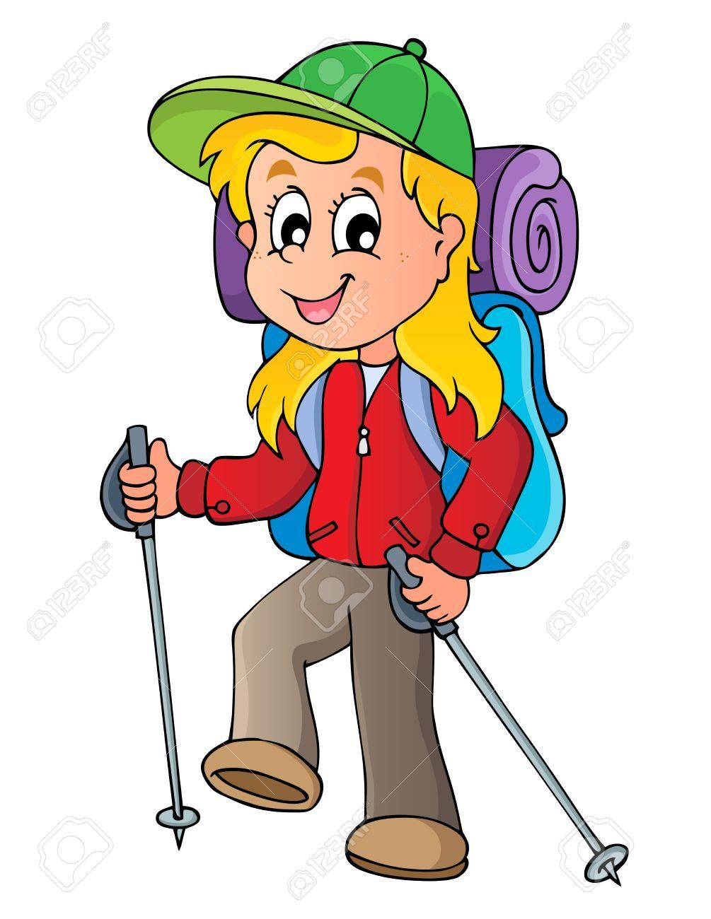 Hiking free download best. Hiker clipart adventurous girl