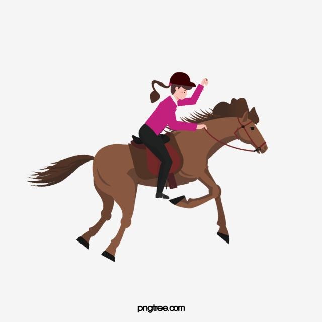 Horses clipart equestrian. Horse riding girl png