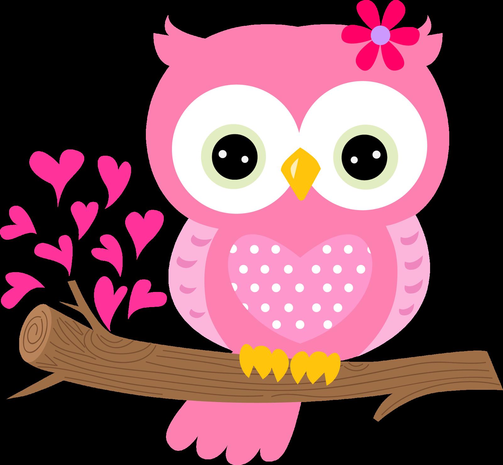 Baby owl clip art. Owls clipart pink