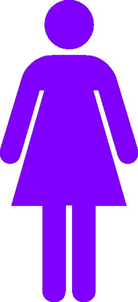 Girl clipart purple. Woman clip art at