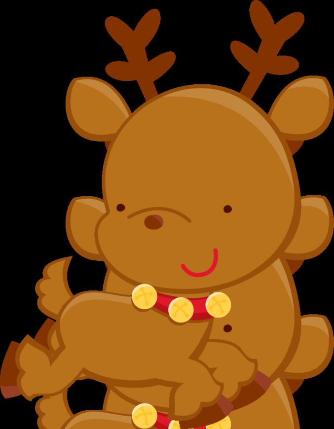 Photo zwd zps e. Girls clipart reindeer