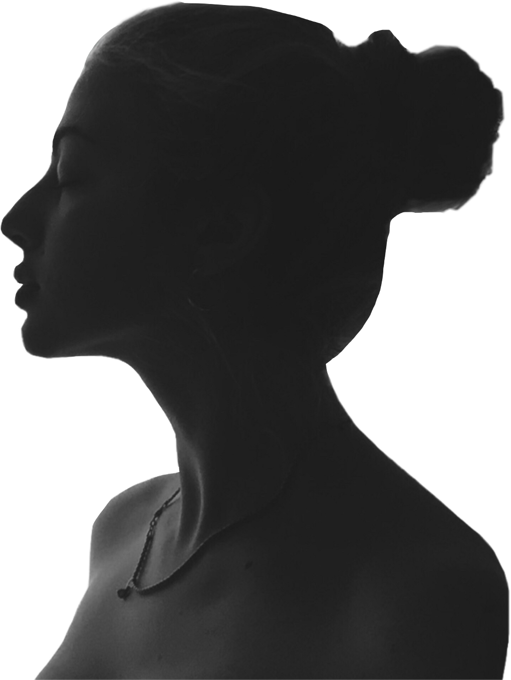 Shadows silhouette dark report. Girl clipart shadow