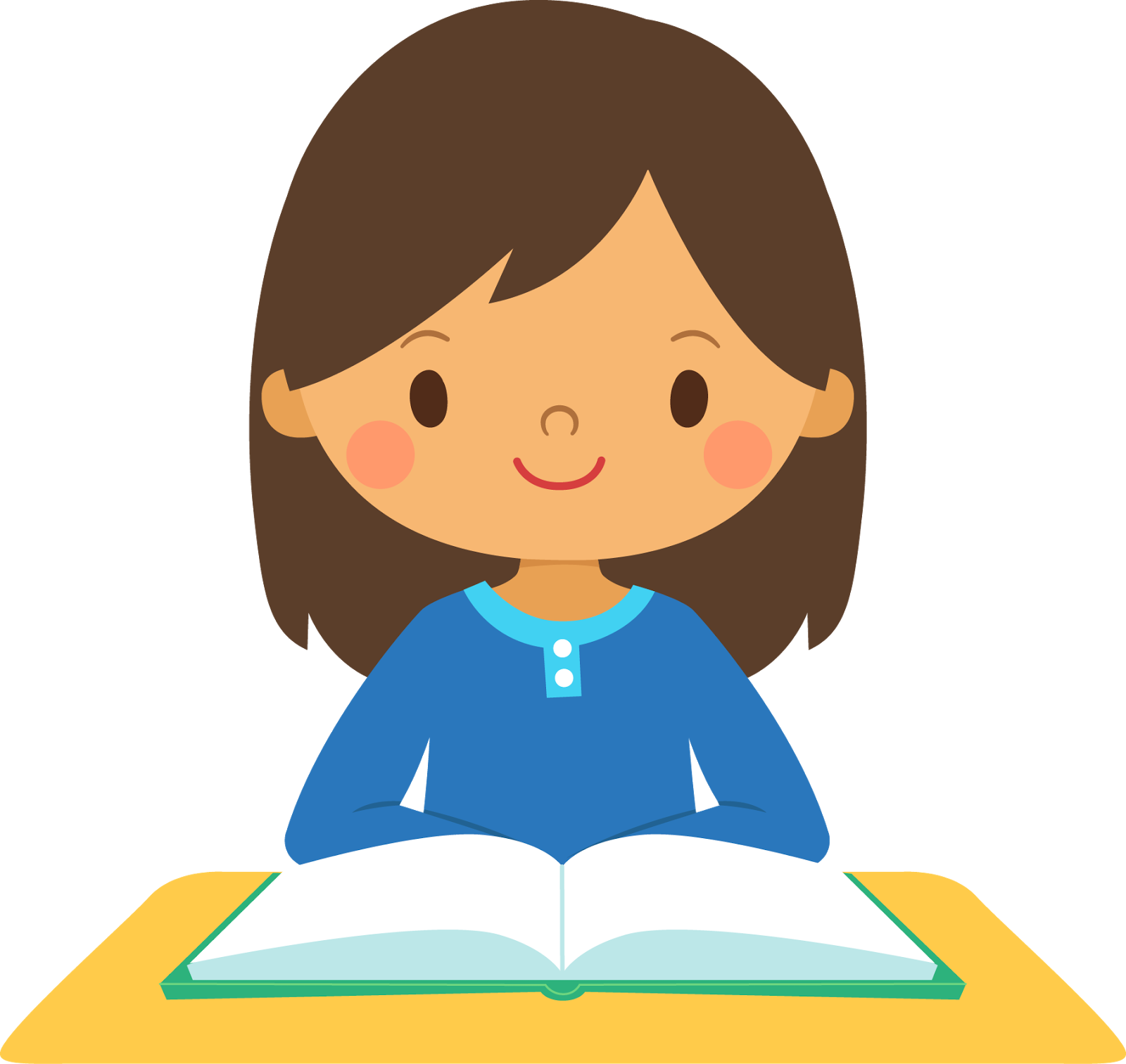 Name clipart student. Girl image