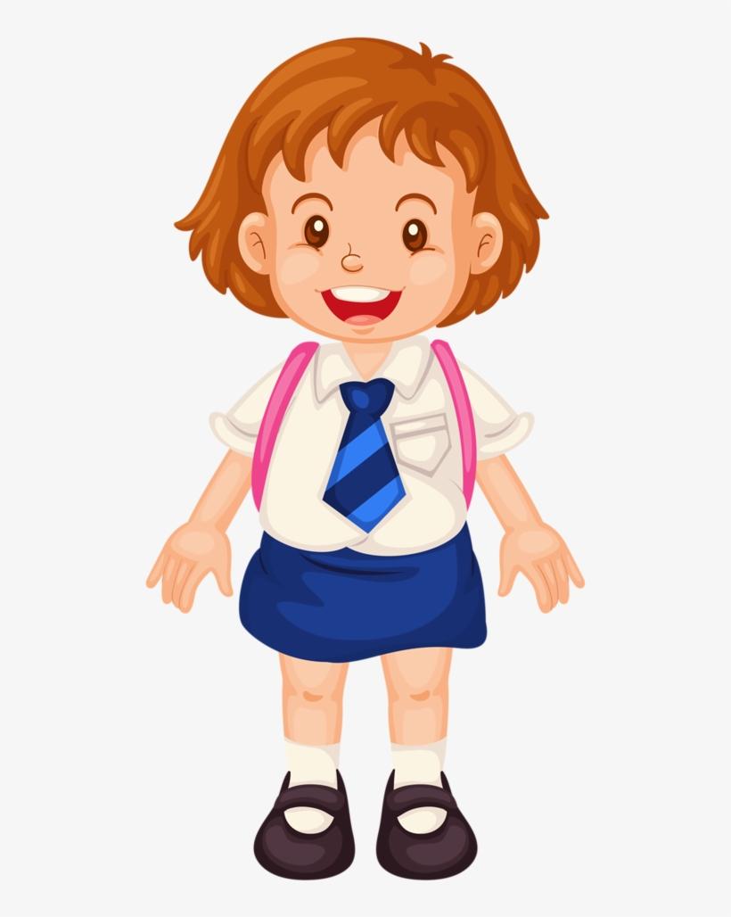Escola formatura animation schools. Girl clipart uniform