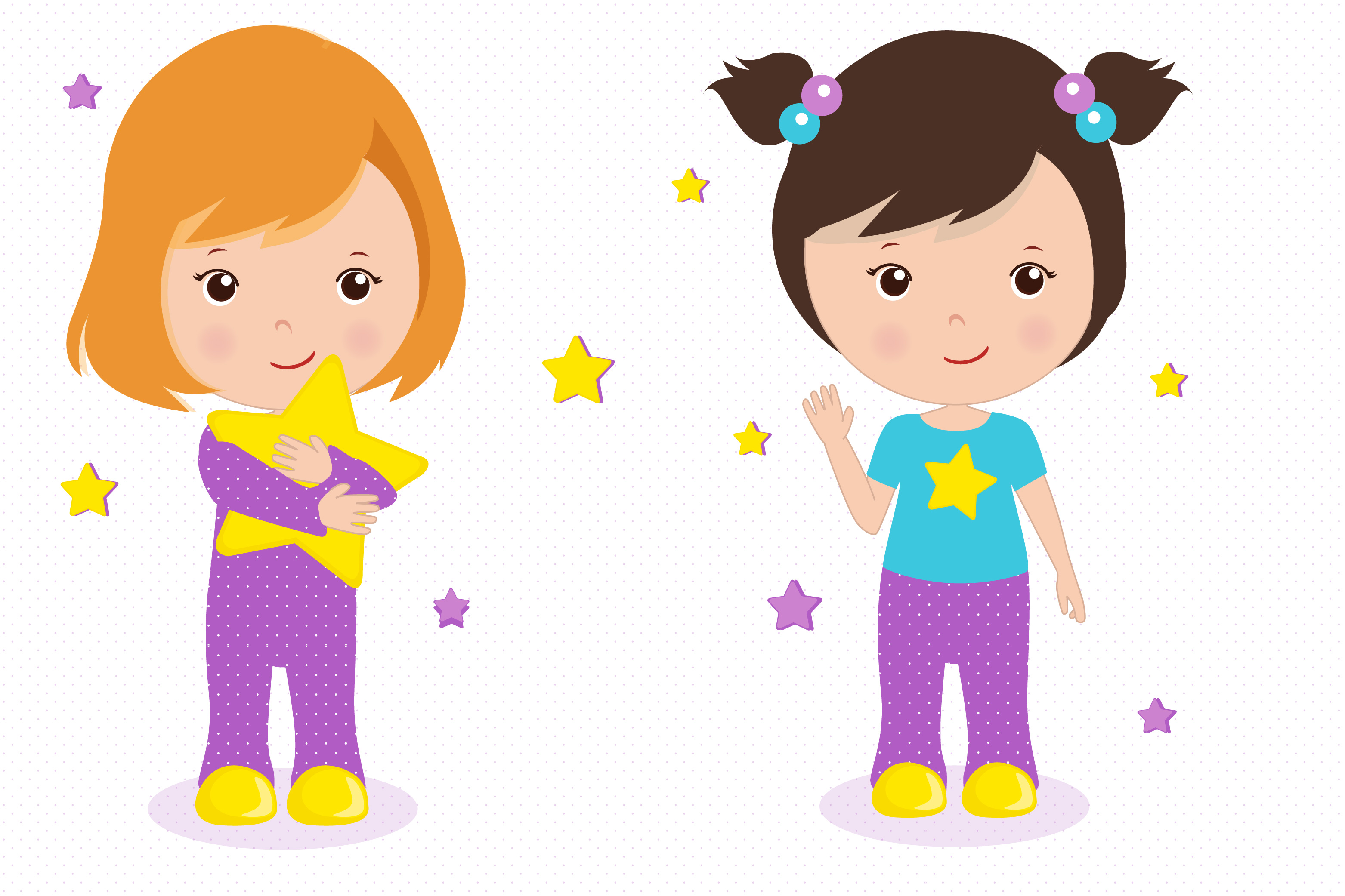 Sleepover graphics little clipar. Girls clipart