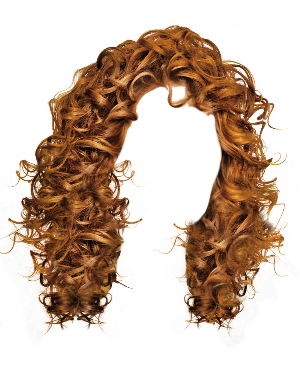Twenty nine isolated stock. Hair png files
