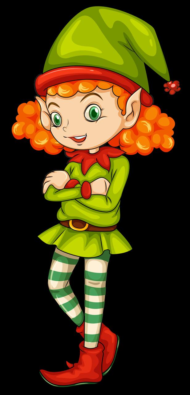 Girls clipart elf.  png pinterest elves
