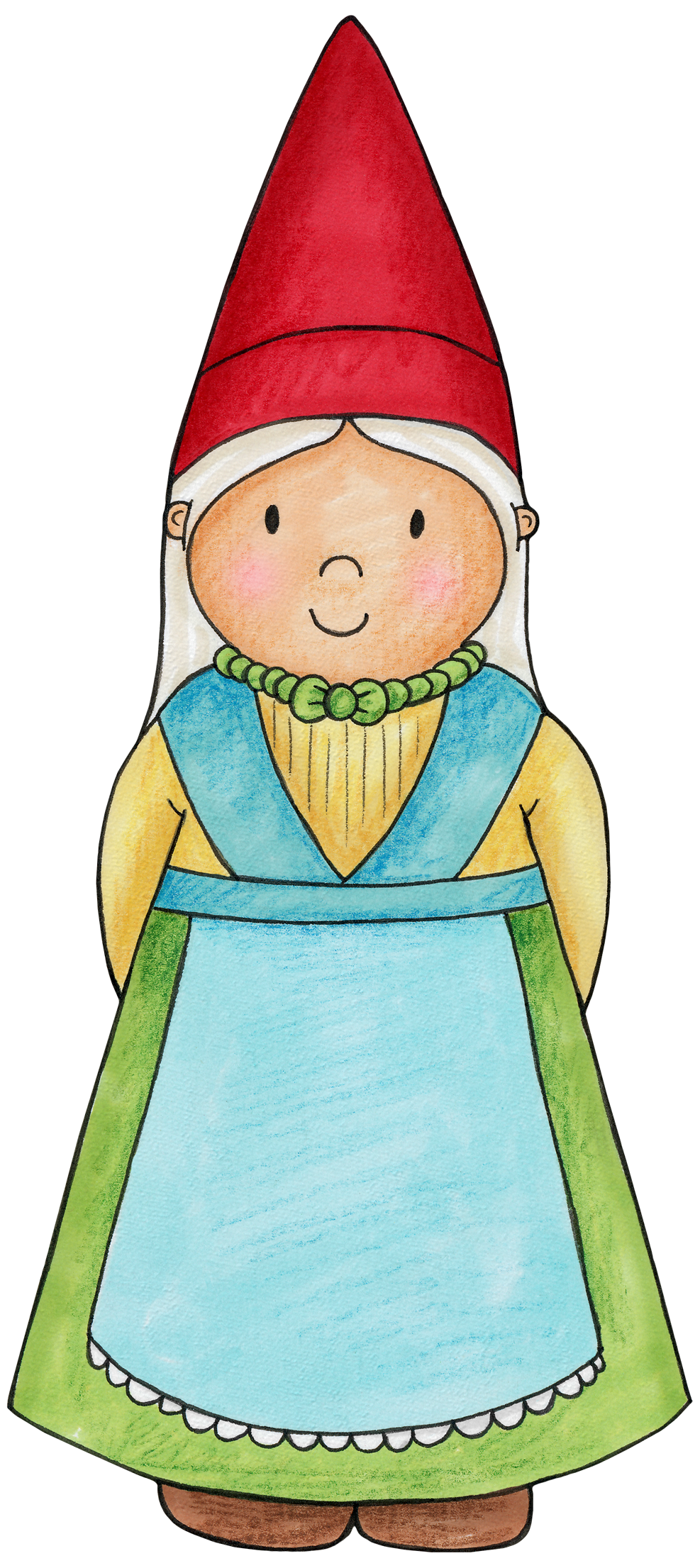 Lady gnome for a. Woodland clipart fairy woodland