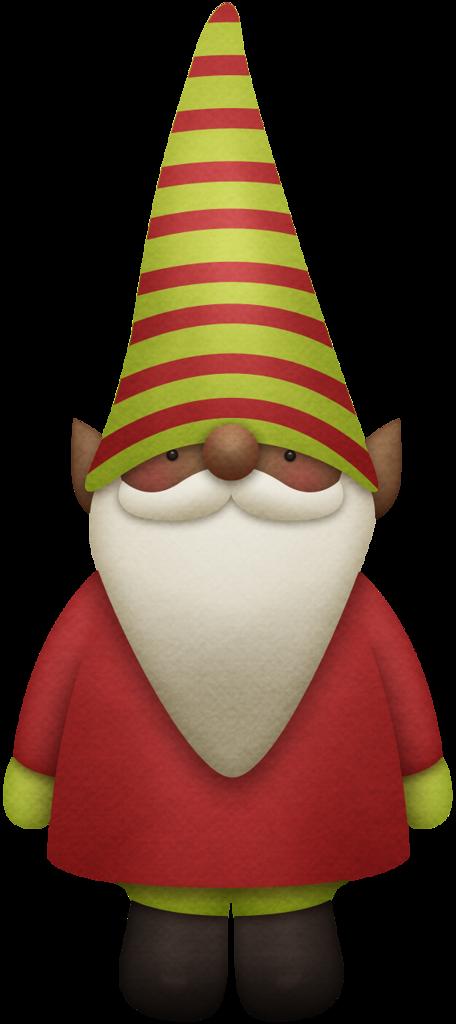 Gnome clipart christmas. Kaagard gnomeforholidays elf red