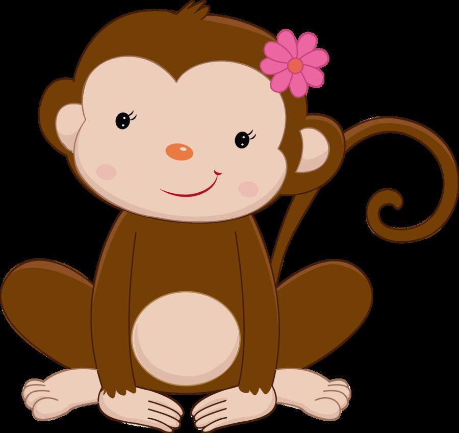 jungle clipart monkey