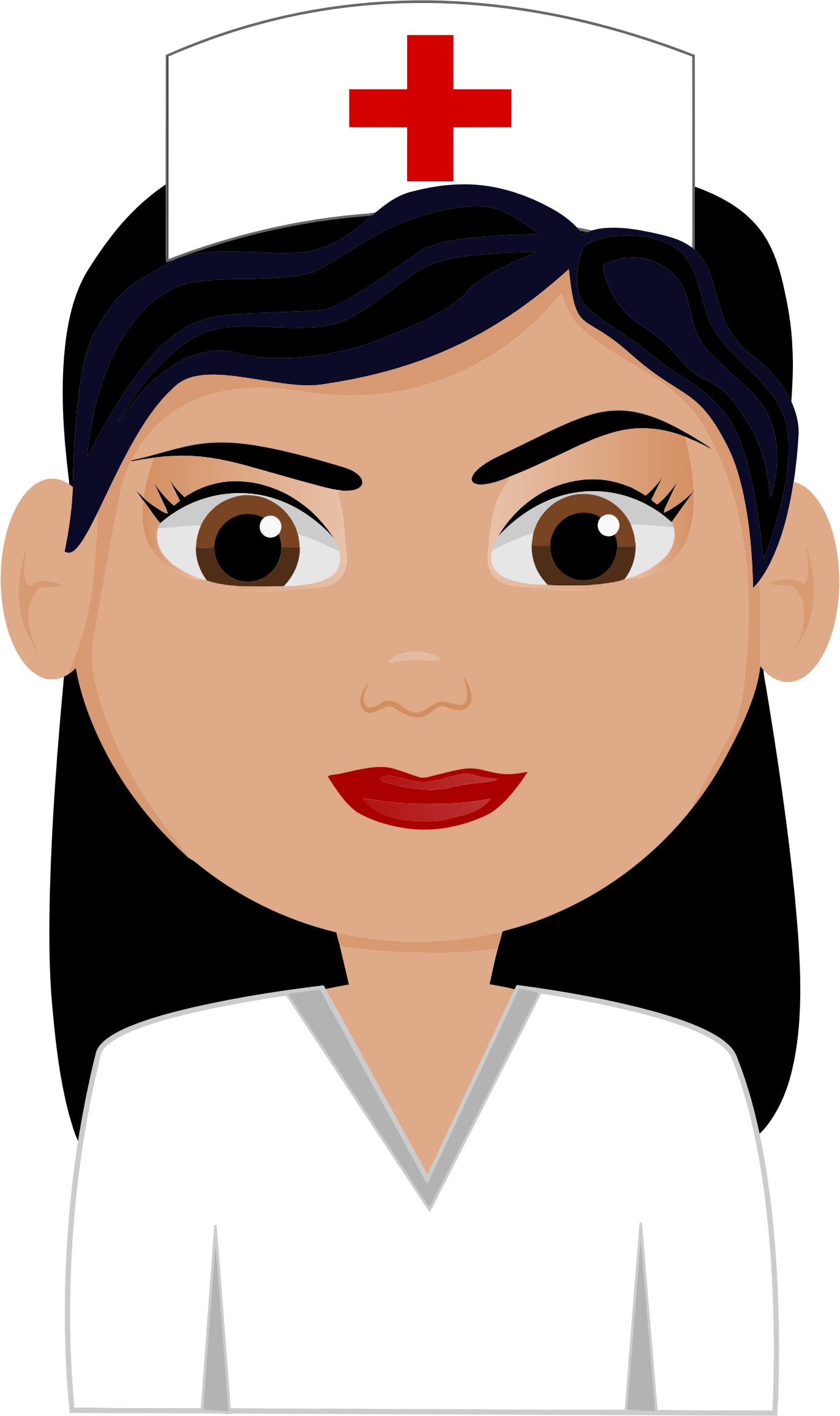 free cute nurse. Nursing clipart woman doctor