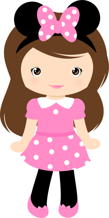 Girls clipart planner. Minus say hello masal